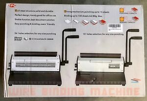 Rayson Td1500b34r 3 in 1 34 Round Hole Wire Binding Machine