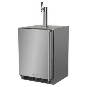 Mo24bss2rs Marvel 24 Csa Outdoor Approved Single Tap Ss Built in Kegerator