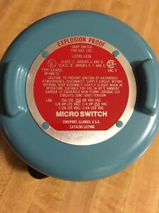 Honeywell Microswitch Explosion Proof Hazardous Snap Switch