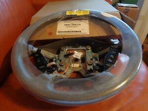 Nos Ford 2006 Lincoln Ls Leather Wrap Steering Wheel 5w4z 3600 ca Original