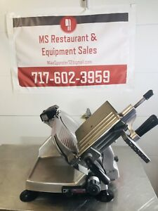 Hobart 2812 12 Manual Meat Cheese Deli Slicer W Sharpener Fully Refurbished