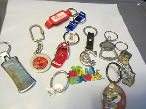 Assorted Keychains Lot # 2 ADDED SOME MARCH 30  2019