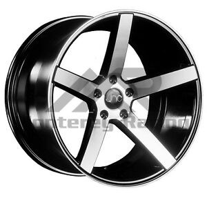 18x10 5x105 Jnc 026 Black Machine Made For Chevy Sonic Cruze