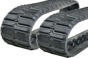 Two 9 240mm Rubber Tracks For Toro Dingo Tx425 Tx427 Wide Tx525 Wide