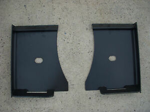 Bobcat Kubota Quick Attach Attachment Skid Steer Weld Mount Brackets Free Ship