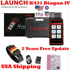 Usa Ship Launch X431 Diagun Iv Auto Obd2 Diagnostic With 2 Years Free Update
