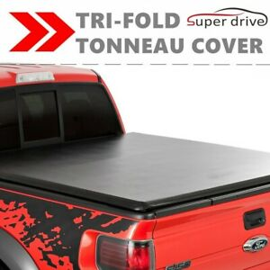 Lock Soft Tri Fold Tonneau Cover For 1988 2000 Chevy Silverado 6 5ft Short Bed