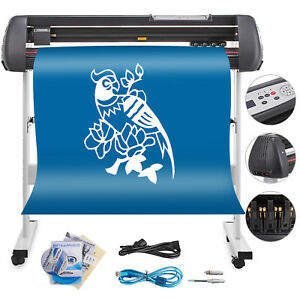 Vinyl Cutter W signmaster Software Printer Sticker 3 Blades High Reputation