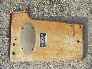 Farmall 460 Rc Tractor Ih Ihc Radiator Left Side Front Cover Panel