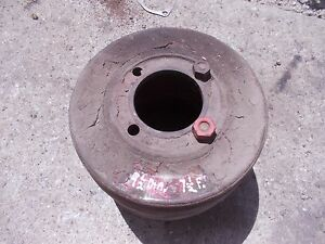 Farmall H Sh 300 350 Tractor Real Nice Ihc Paper Belt Pulley Bolts Ready U Use
