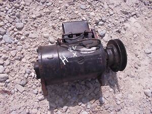 Farmall Ih H Hv M Tractor Good Working 8v Generator Belt Pulley