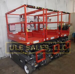 2018 Skyjack Sj3219 Electric Scissor Lift New In stock Door 2 Door Delivery