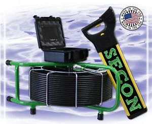 200 Ft Sewer Video Pipe Drain Cleaner Inspection Camera Locator W 512hz Sonde