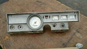 1965 Plymouth Valiant Dashboard Cluster