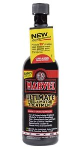 Fuel And Motor Oil For Ultimate Treatment To All Engines By Marvel Mystery 12 Oz