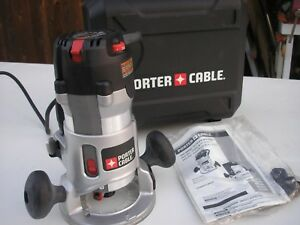 New Porter Cable 2 1 4 Hp Variable Speed Router Kit 892