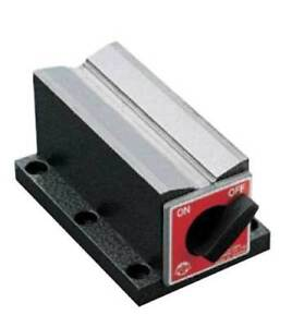 Earth chain Ece 612 4 6 X 3 X 2 5 Magnetic V block holding Power 350 Lbs