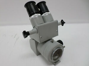 Carl Zeiss F 160 Optic Head With Two 12 5x Eyepiece Lenses And F 200 Lens Unit