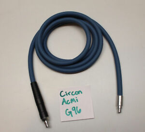Circon Acmi G96 Autoclavable Fiber Optic Surgical Light Source Cable 7 Foot