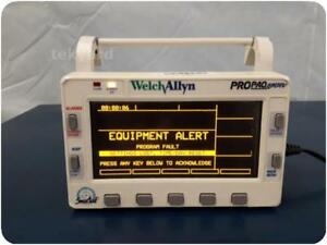 Welch Allyn Propaq Encore 202 El Multi parameter Vital Signs Monitor 209817