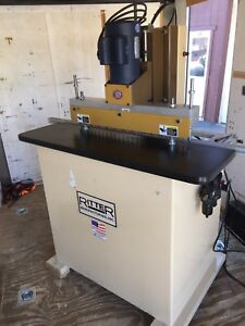 Ritter R19f1 23 Spindle Line Boring Machine Single Phase Excellent Shape