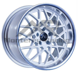 18x9 5 5x114 3 Jnc 016 White Machine Made For Chevy Honda Lexus