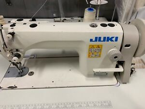 Juki Du 1181n 1 needle Top And Bottom feed Walking Foot Heavy Sewing Machine