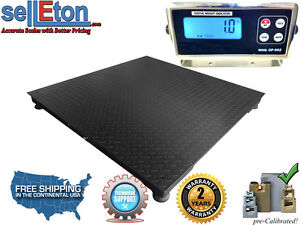 Industrial Warehouse 40 X 40 Floor Scale Pallet Size With 2000 Lbs X 5 Lb
