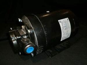 Dayton 6pa38 1 2 Cast Iron Roller Pump With Motor 115 230v 1725 Max Rpm