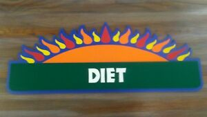 Retail Store Inside Hanging Sign Diet Health Shop Store Retail Sign