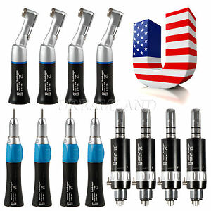 4 usa Low Speed Handpiece Contra Angle Straight Nosecone Air Motor 4h Nsk Ska hk