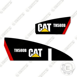 Caterpillar Th580b Telescopic Forklift Decal Kit Equipment Decals Th 580 B