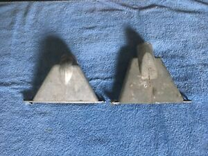 Pair Nos1948 49 50 51 52 53 Gmc Chevrolet Truck Defrost Vents