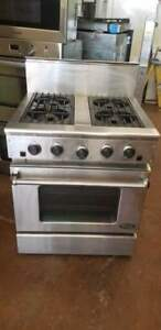 0003271 30 Dcs 4 Burner Commercial All Gas Stove Stainless Steel