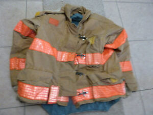 Morning Pride Firefighter Jacket Coat Bunker Turn Out Gear 34 27