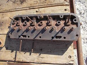 Allis Chalmers Wc Tractor Original Ac Engine Motor Cylinder Head