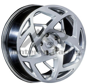 17x8 5 5x108 Jnc 047 Silver Machine Made For Ford Volvo
