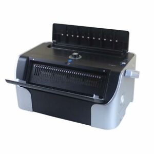 All Steel 110v Heavy Duty Electric Metal Spiral Coil Punch Binding Machine