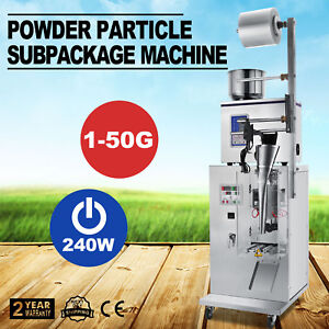 1 50g Weighing Packing Filling Particles powder Machine Tea Store Adjustable