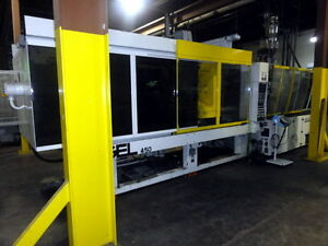 2002 450 Ton Engel Injection Molding Machine