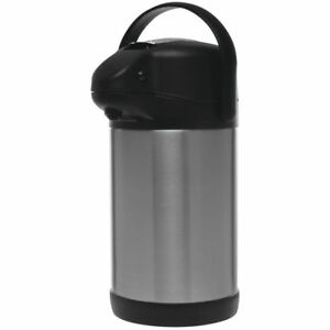 Hubert Airpot Coffee Dispenser With Stainless Steel Liner 2 5 Liter 8 3 4 L X