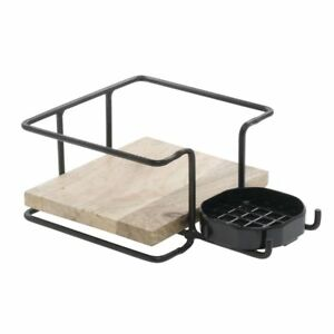 Airpot Holder For Thermal Airpot Coffee Dispensers Mango Wood 7 1 2 w X 11