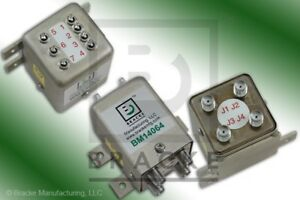 Sma Female Transfer Dpdt Switch Dc 18 Ghz 12 Vdc Bracke Bm14064