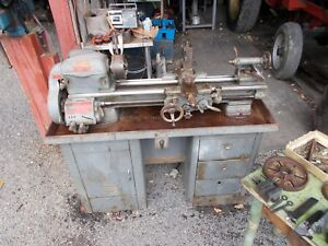 Southbend Lathe A south Bend Lathe cl344zd nice Lathe With Tooling govt Owned