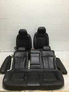 2010 Buick Lacrosse Power Front With Rear Seats Black Leather
