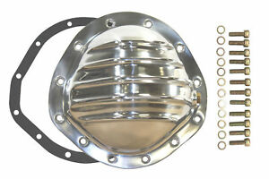 Polished Aluminum Chevy Gm 12 Bolt Diff 8 75 Rg Differential Cover Rear
