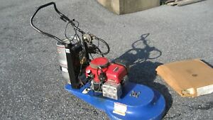 24 Inch Propane Floor Burnisher Buffer With Honda 11 Hp Engine Only 541 Hours