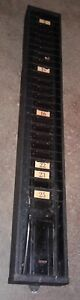 Vintage Simplex Time Card Slot Holder Wall Mountable Our 3