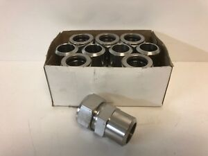 Box Of 10 New Swagelok 1 Tube X 1 Male Pipe Weld Ss Fittings Ss 1610 1 16w