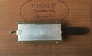 Kingsley Machine 72pt Flat Die Type Holder Hot Foil Stamping Machine Type